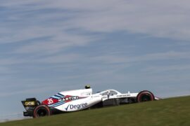 Circuit of the Americas, Austin, Texas, USA Sunday 21 October 2018. Sergey Sirotkin, Williams FW41.
