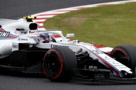 Sergey Sirotkin Williams Suzuka Circuit, Suzuka, Japan 2018.
