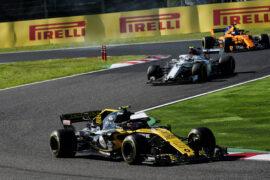 Carlos Sainz Jr (ESP) Renault Sport F1 Team RS18. Japanese Grand Prix, Sunday 7th October 2018. Suzuka, Japan.