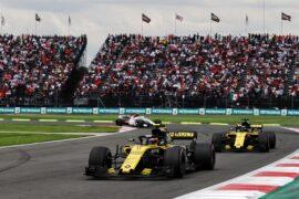 Carlos Sainz Jr (ESP) Renault Sport F1 Team RS18. Mexican Grand Prix, Sunday 28th October 2018. Mexico City, Mexico.
