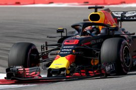 Daniel Ricciardo of Red Bull Racing RB14 TAG Heuer on track during final practice for the Formula One Grand Prix of Russia at Sochi Autodrom on September 29, 2018 in Sochi, Russia.