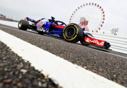 Brendon Hartley on track during practice for the Formula One Grand Prix of Japan at Suzuka Circuit on October 5, 2018 in Suzuka.
