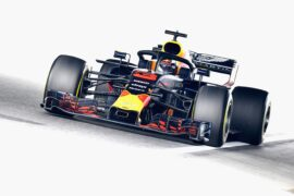 Daniel Ricciardo Red Bull on track during practice for the Formula One Grand Prix of Japan at Suzuka Circuit on October 5, 2018 in Suzuka.