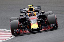 Max Verstappen Red Bull Japanese GP F1/2018