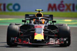 Max Verstappen Red Bull Mexico GP F1/2018