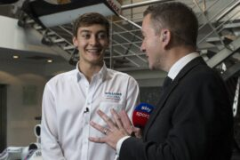 George Russell on how he prepare for his first F1 season