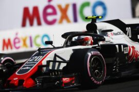 Kevin Magnussen Haas on track Mexico GP F1/2018
