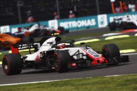 Kevin Magnussen Haas MexicoGP F1/2018