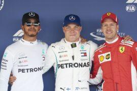 Formula One - Mercedes-AMG Petronas Motorsport, Russian GP 2018. Lewis Hamilton, Valtteri Bottas