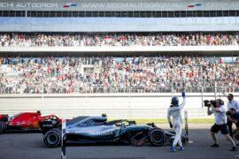 Formula One - Mercedes-AMG Petronas Motorsport, Russian GP 2018. Valtteri Bottas