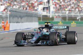 Formula One - Mercedes-AMG Petronas Motorsport, Russian GP 2018. Lewis Hamilton