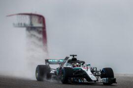 Formula One - Mercedes-AMG Petronas Motorsport, United States GP 2018. Lewis Hamilton
