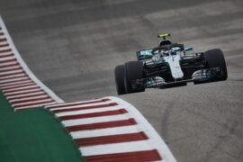 Formula One - Mercedes-AMG Petronas Motorsport, United States GP 2018. Valtteri Bottas