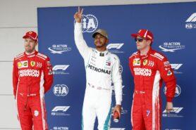 Qualifying results 2018 US F1 Grand Prix