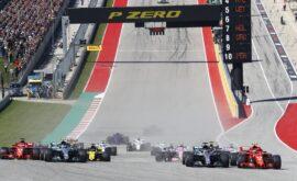 Formula One - Mercedes-AMG Petronas Motorsport, United States GP 2018. Lewis Hamilton, Valtteri Bottas, Kimi Raikkonen & other drivers.
