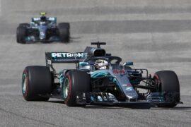 Formula One - Mercedes-AMG Petronas Motorsport, United States GP 2018. Lewis Hamilton, Valtteri Bottas