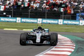 Formula One - Mercedes-AMG Petronas Motorsport, Mexican GP 2018. Valtteri Bottas