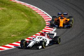 Charles Leclerc & Fernando Alonso Japanese GP F1/2018
