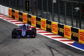 Brendon Hartley Toro Rosso Russian GP F1/2018