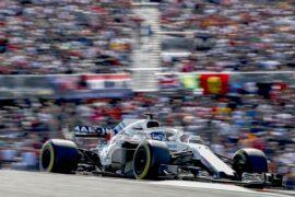 Circuit of the Americas, Austin, Texas, USA Sunday 21 October 2018. Lance Stroll, Williams FW41.