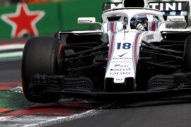 Lance Stroll Williams Mexico GP F1/2018