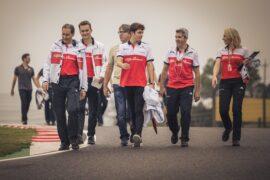Charles Leclerc, Alfa Romeo Sauber F1 Team on track walk at Formula One World Championship, Rd17, Japanese Grand Prix, Preparations, Suzuka, Japan, Thursday 4 October 2018.