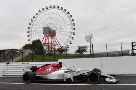 Marcus Ericsson, Alfa Romeo Sauber C37 at Formula One World Championship, Rd17, Japanese Grand Prix, 2018.