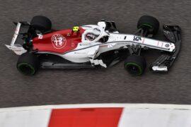 Charles Leclerc, Alfa Romeo Sauber C37 at Formula One World Championship, Rd18, United States Grand Prix, Practice, Circuit of the Americas, Austin, Texas, USA