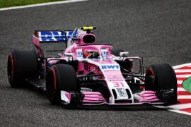 Esteban Ocon (FRA) Racing Point Force India F1 VJM11. Japanese Grand Prix, Friday 5th October 2018. Suzuka, Japan.