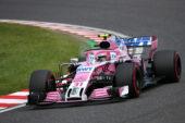 Esteban Ocon (FRA) Racing Point Force India F1 VJM11. Japanese Grand Prix, Saturday 6th October 2018. Suzuka, Japan.