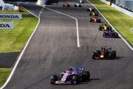 Esteban Ocon (FRA) Racing Point Force India F1 VJM11. Japanese Grand Prix, Sunday 7th October 2018. Suzuka, Japan.