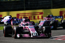 Sergio Perez (MEX) Racing Point Force India F1 VJM11. Japanese Grand Prix, Sunday 7th October 2018. Suzuka, Japan.