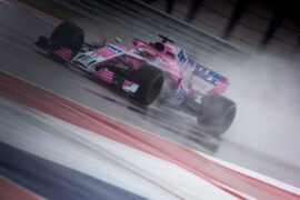 Sergio Perez (MEX) Racing Point Force India F1 VJM11. United States Grand Prix, Circuit of the Americas, Austin, Texas, USA.