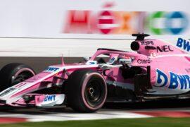 Sergio Perez (MEX) Racing Point Force India F1 VJM11. Mexican Grand Prix 2018.