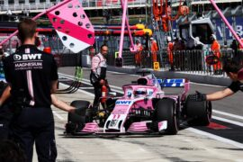 Sergio Perez (MEX) Racing Point Force India F1 VJM11. Russian Grand Prix, Saturday 29th September 2018. Sochi Autodrom, Sochi, Russia.