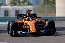 Lando Norris, McLaren MCL33 during the Test Days at Yas Marina Circuit on November 27, 2018 in Yas Marina Circuit, United Arab Emirates.