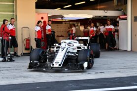 Best Lap Times Abu Dhabi test - Day 1
