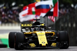 Nico Hulkenberg (GER) Renault Sport F1 Team RS18. Brazilian Grand Prix 2018. Sao Paulo, Brazil.