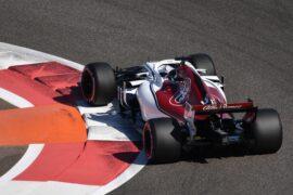 2018 Abu Dhabi GP Marcus Ericsson Sauber
