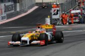 Renault RS29 driven by Fernando Alonso at Monaco (2009)