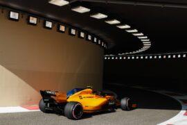 2018 Abu Dhabi GP Stoffel Vandoorne McLaren