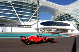 2018 Abu Dhabi GP Sebastian Vettel Ferrari