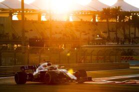 2018 Abu Dhabi GP Lance Stroll Williams