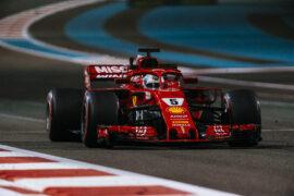 Sebastian Vettel Ferrari Abu Dhabi GP F1/2018