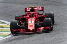 Kimi Raikkonen Ferrari Brazil GP F1/2018