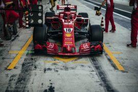 Charles Leclerc Ferrari Abu Dhabi testing day 2 2018