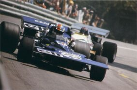 Tyrell 001 driven by François Cevert on Spa in Belgium (1971)