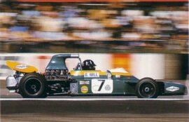 Brabham BT34 driven by Graham Hill in Britiain (1971)