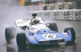Matra-Simca MS120D driven by Chris Amon at Monaco (1972)