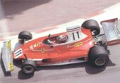 Ferrari 312T driven by Clay Regazzoni at Monaco (1975)